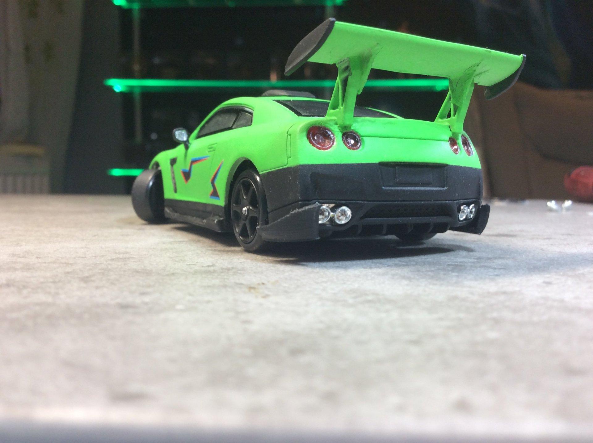 mein GTR mit neuer Farbe