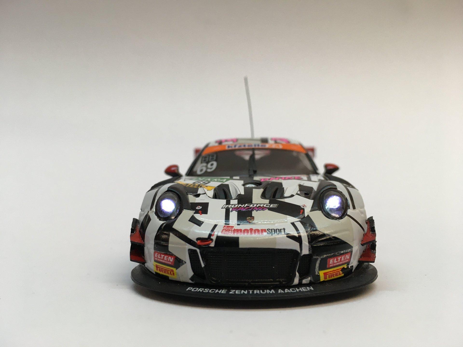 Porsche 911 GT3R 2018 Iron Force Racing