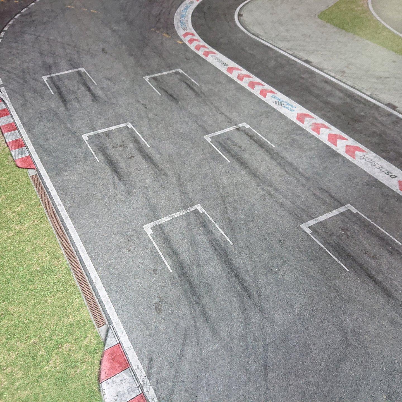 Streckendetail – Starting Grid