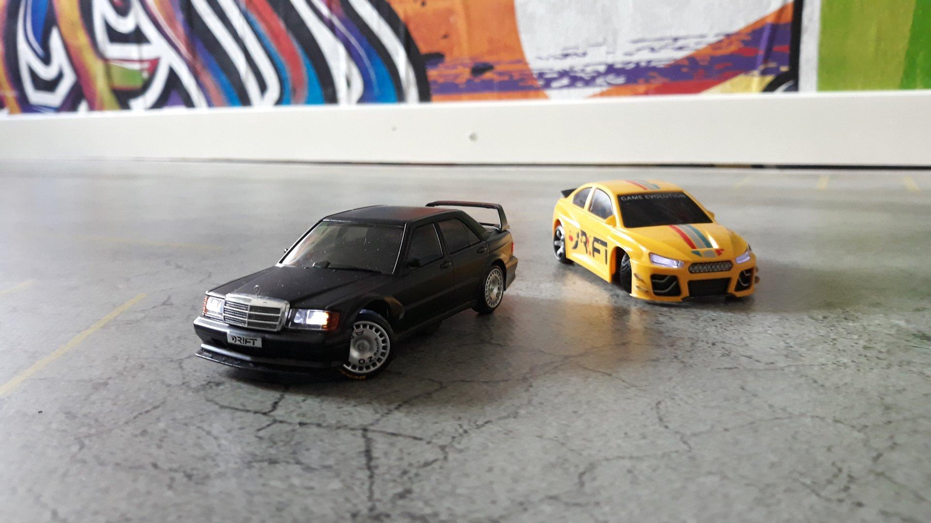 Evo 2 gegen Eckengammler V8